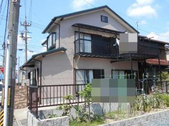 中古で家を購入し、合わせて塗り替えを検討していた。
